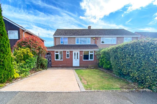 3 bed semi-detached house for sale in Knightley Road, St. Leonards, Exeter EX2