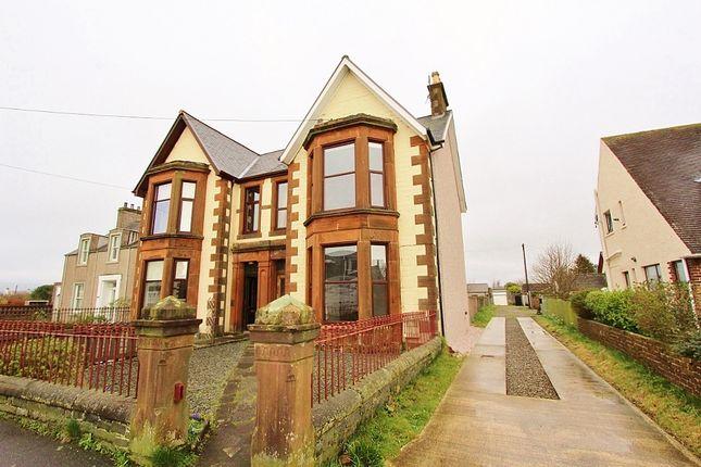 Thumbnail Semi-detached house for sale in 'kinnoul Villa' Bowling Green Road, Stranraer