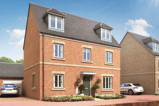 """Thumbnail Semi-detached house for sale in """"The Blakesley"""" at Desborough Road, Rothwell, Kettering"""