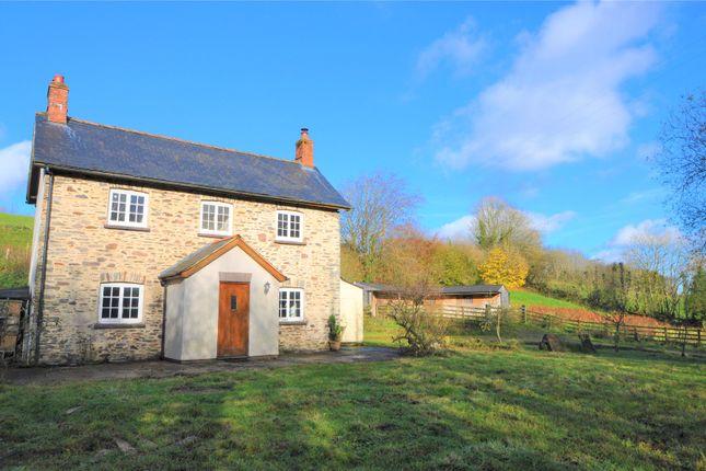 Thumbnail Detached house for sale in Brompton Regis, Dulverton, Somerset