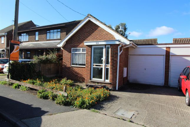 Thumbnail Detached bungalow for sale in Church Parade, Canvey Island