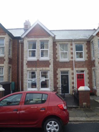 Thumbnail Terraced house to rent in Salisbury Road, Lipson, Plymouth