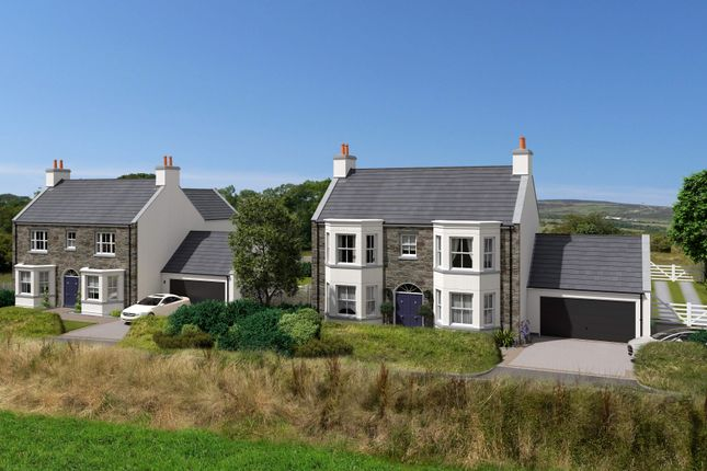 Thumbnail Town house for sale in Plot 1 Clypse Cottages, Onchan