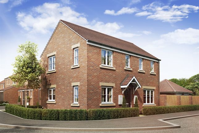"Thumbnail Detached house for sale in ""The Clayton Corner"" at Theedway, Leighton Buzzard"