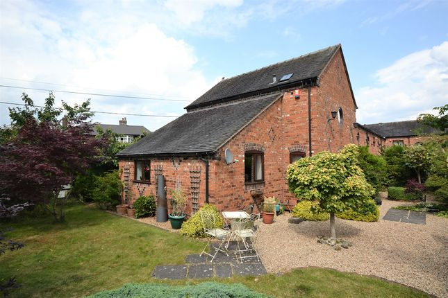 Thumbnail Barn conversion for sale in Birches Farm Mews, Madeley, Crewe