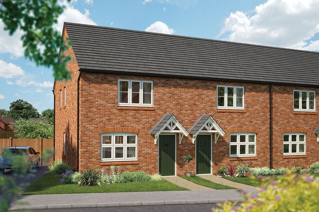 """Thumbnail Terraced house for sale in """"The Holly"""" at Mandale Close, Bishops Itchington, Southam"""
