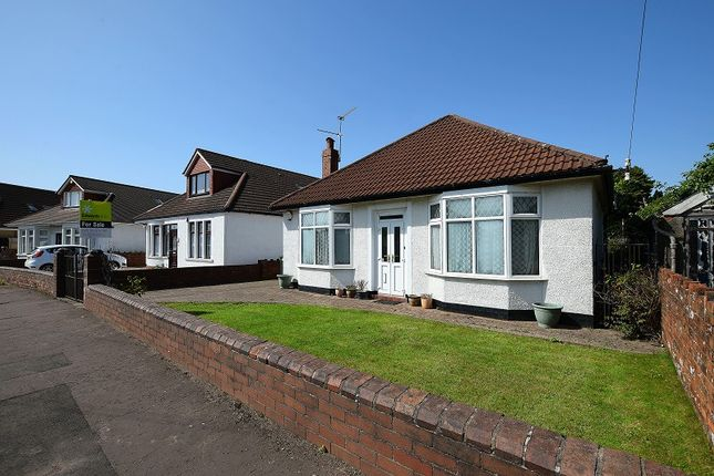 Thumbnail Detached bungalow for sale in Heol Nest, Whitchurch, Cardiff.