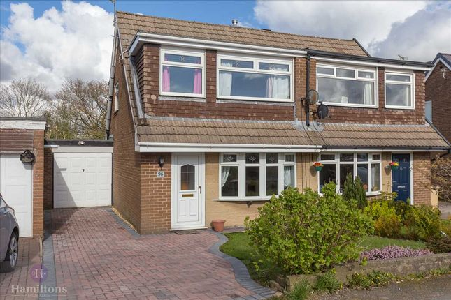 Thumbnail Semi-detached house for sale in Thornham Drive, Bolton