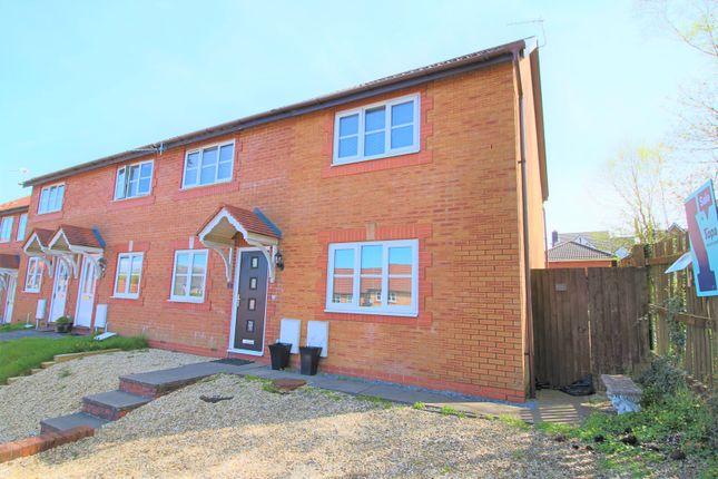 End terrace house for sale in Tegfan, Tircoed Forest Village, Penllergaer, Swansea
