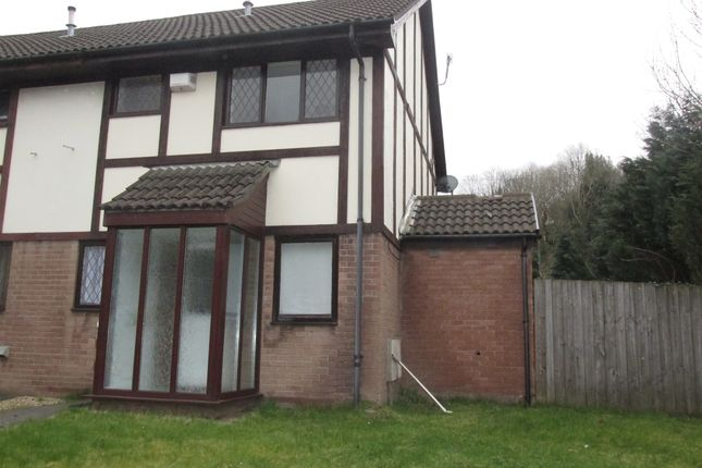 Thumbnail End terrace house for sale in The Rink, Merthyr Tydfil