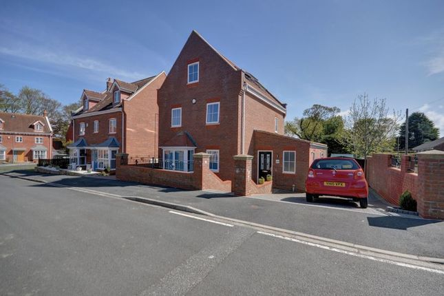 Thumbnail Detached house for sale in Shackleton Close, Whitby