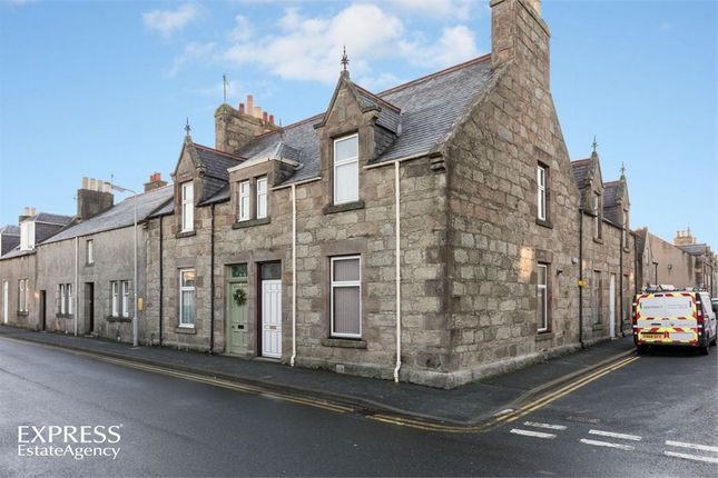 End terrace house for sale in Nelson Street, Huntly, Aberdeenshire