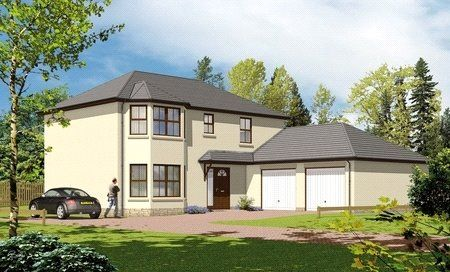 Thumbnail Detached house for sale in The Atholl, Plot 8, Moulin View, Pitlochry, Perth And Kinross