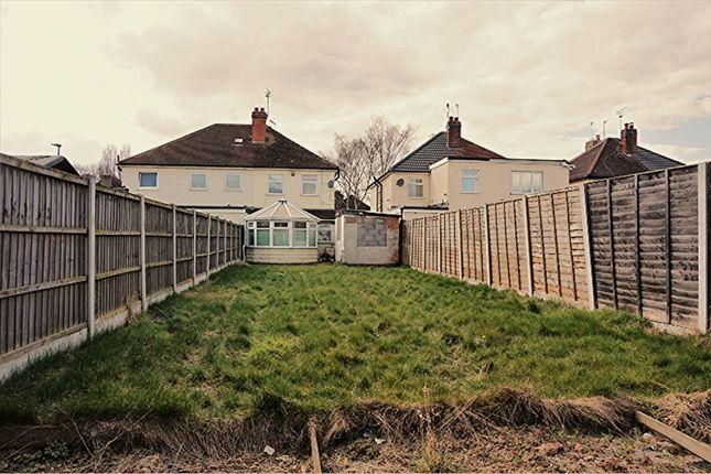 Rear Garden of Stanley Road, Alvaston, Derby DE24