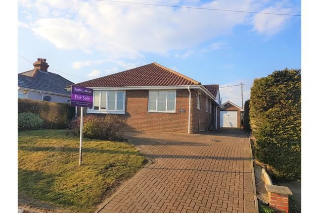 Thumbnail Detached bungalow for sale in Old Dover Road, Folkestone