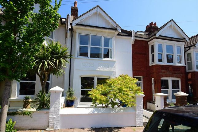 Thumbnail Terraced house for sale in Hollingbury Park Avenue, Brighton, East Sussex