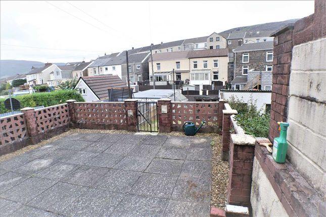 Rear Garden of Penygraig Road, Penygraig, Tonypandy CF40