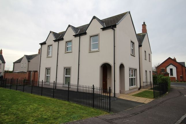 Thumbnail Detached house to rent in Abbington Manor, Bangor