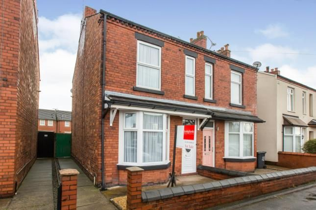 Thumbnail Semi-detached house for sale in Broughton Road, Crewe, Cheshire