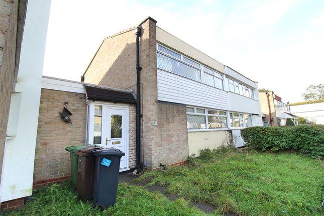 Thumbnail Semi-detached house for sale in Hilleys Croft, Chelmsley Wood, Birmingham