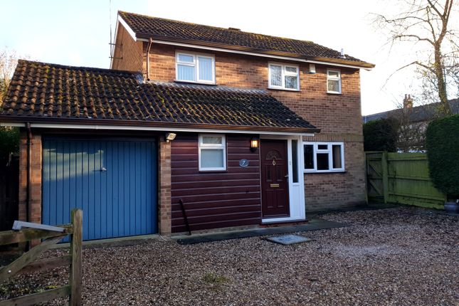 Thumbnail Detached house for sale in Lea Close, Broughton Astley, Leicester
