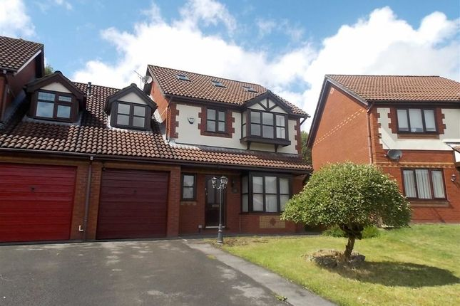 Thumbnail Link-detached house for sale in Wellfield, Beddau, Pontypridd