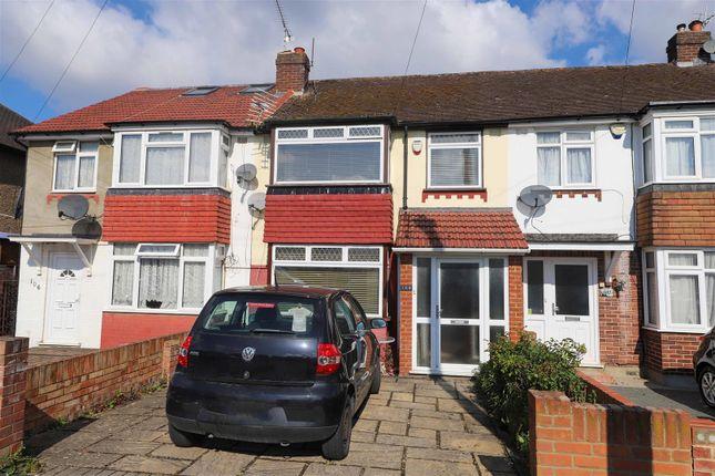 3 bed terraced house for sale in Lynhurst Crescent, Hillingdon UB10