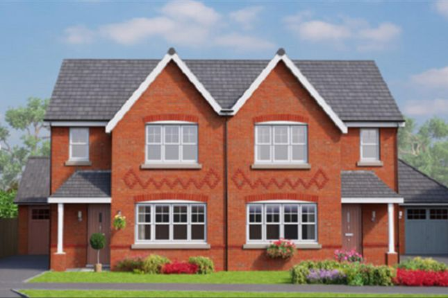 Thumbnail Semi-detached house for sale in The Banbury, Erddig Place, Wrexham