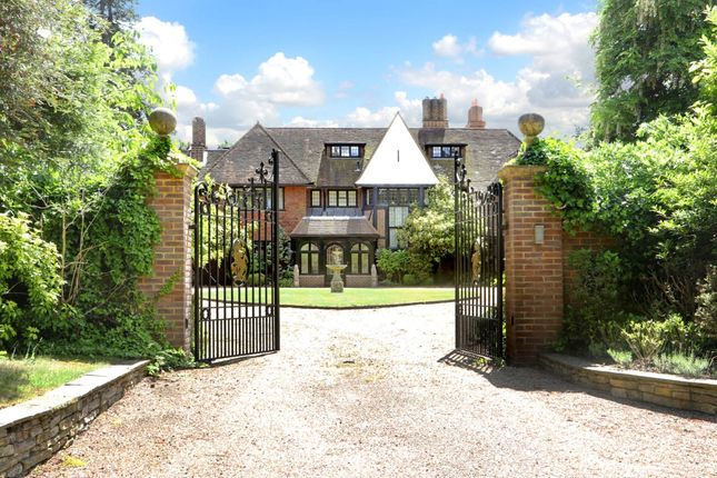 Thumbnail Detached house to rent in Camp End Road, St. Georges Hill, Weybridge