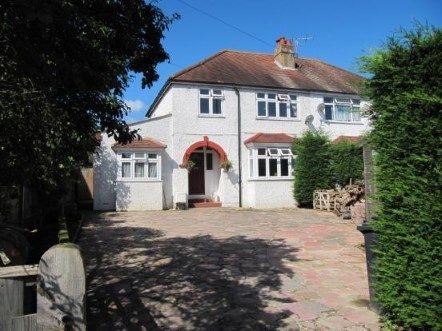 Thumbnail Semi-detached house for sale in Findon Road, Worthing, West Sussex