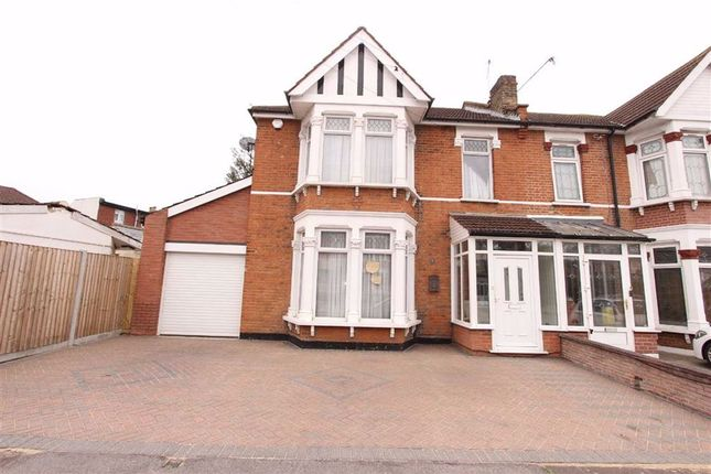 Thumbnail Semi-detached house to rent in Cardigan Gardens, Ilford, Essex