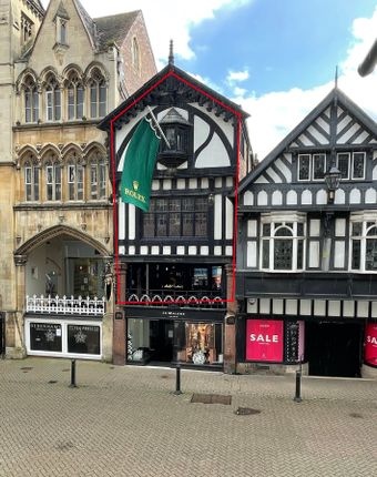 Thumbnail Retail premises to let in Eastgate Row South, Chester