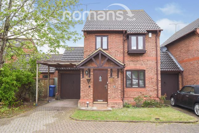3 bed link-detached house to rent in Carnation Drive, Winkfield Row, Bracknell RG42
