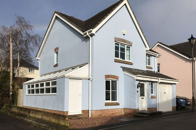 Thumbnail Detached house for sale in Knights Mead, Chudleigh Knighton, Chudleigh, Newton Abbot