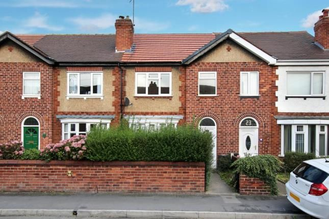 Thumbnail Terraced house for sale in Strathmore Road, Doncaster