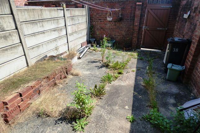 Rear Yard of Brooklyn Street, Halliwell, Bolton BL1