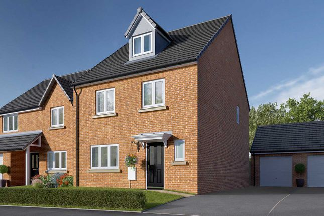 """Thumbnail Semi-detached house for sale in """"The Ripley"""" at Norton Road, Thurston, Bury St. Edmunds"""