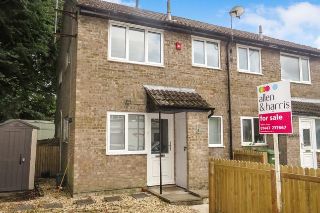 Thumbnail End terrace house for sale in Cherry Tree Walk, Talbot Green, Pontyclun