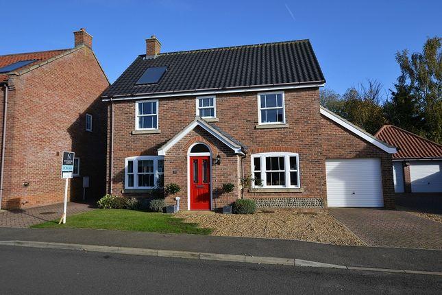 Thumbnail Detached house for sale in Owen Cole Close, Great Massingham, Kings Lynn, Norfolk.