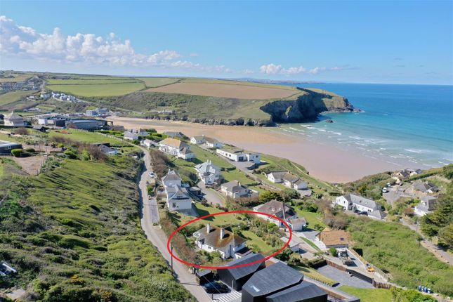 Thumbnail Detached house for sale in Tredragon Road, Mawgan Porth, Newquay