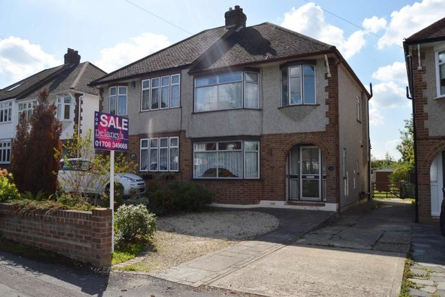 Thumbnail Semi-detached house for sale in Shepherds Hill, Harold Wood, Romford