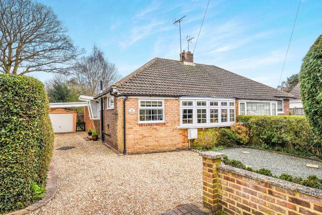 Thumbnail Bungalow for sale in Pondtail Close, Fleet