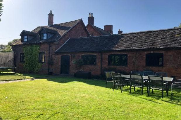 Thumbnail Barn conversion to rent in Old London Road, Lichfield