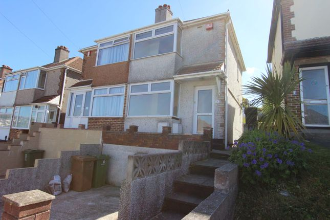 Thumbnail Semi-detached house to rent in Ferrers Road, St Budeaux, Plymouth