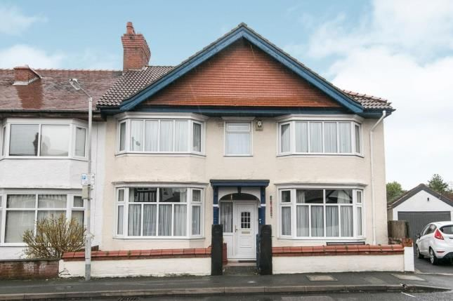 Thumbnail End terrace house for sale in Elm Road North, Prenton, Merseyside