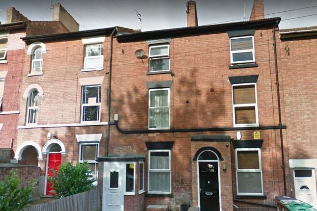 Thumbnail Terraced house to rent in Cromwell Street, Nottingham