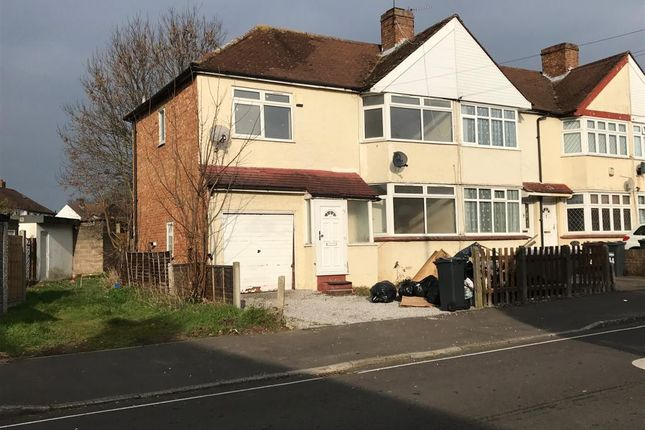 Thumbnail Semi-detached house for sale in Elmgate Avenue, Feltham, Middlesex