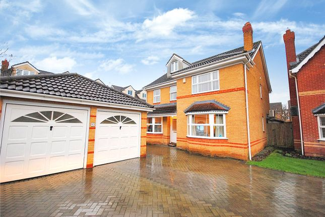 Thumbnail Detached house for sale in The Thatchers, Bishop's Stortford, Hertfordshire