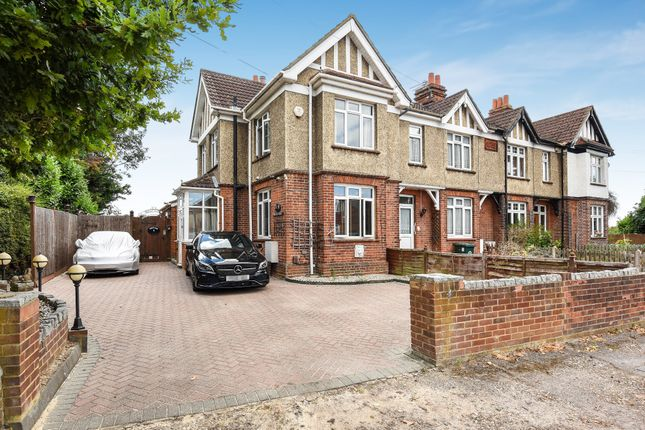 Thumbnail Semi-detached house for sale in Short Lane, Stanwell, Staines