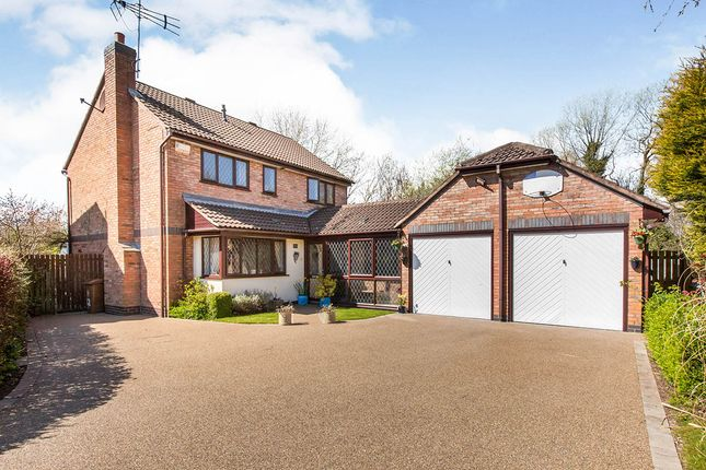 Thumbnail Detached house for sale in Jersey Close, Congleton, Cheshire